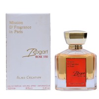 Bogart Rose550, By French deluxe - Perfume For Unisex- French Oriental - Edp,100ML